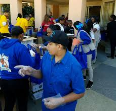 thanksgiving volunteer los angeles business brunch spreads thanksgiving cheer with mothers in