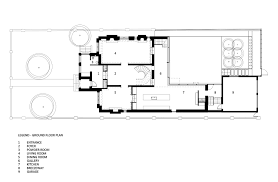 Ground Floor And First Floor Plan by Gallery Of Street House Gh3 17