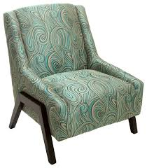 Floral Accent Chair Blue Floral Accent Chair Houzz