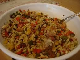 comment cuisiner le hareng fumé salade de riz aux harengs fumés allégé la cuisine sans lactose