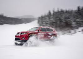 nissan 370z in snow nissan rogue warrior tackles ski slopes with snowmobile tracks