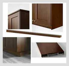 ikea kitchen cabinet kick plate details about ikea edserum toe kick trim or deco moldings kitchen cabinet sektion
