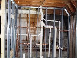 Basement Bathroom Rough Plumbing Tile This Old Fiji House