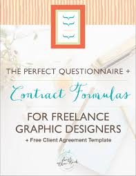 the perfect questionnaire contract formulas for freelance
