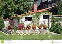 little house little house with garden stock photo image 56464122