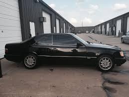 1994 mercedes benz e320 coupe sportline package black on black