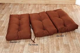 folding sofa bed frame double 4ft6 tri fold silver futon sofa bed frame