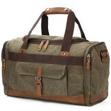 Oklahoma Mens Travel Bag images Leather duffle bags for men jpg