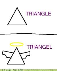 Scalene Triangle Meme - puns triangle funny puns pun pictures cheezburger