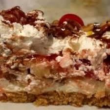 southern style banana split cake recipe allrecipes com pies