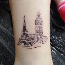 the 25 best eiffel tower tattoo ideas on pinterest paris tattoo