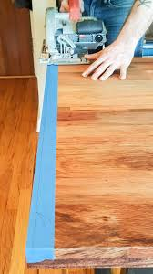 Cutting Laminate Flooring With A Circular Saw 5 Blue Painter U0027s Tape Construction Tips U2022 Nifty Homestead
