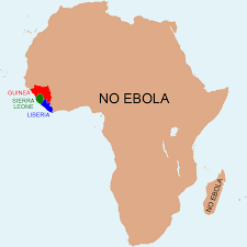 Map Of West Africa by West African Countries Affected By Ebola From The Washington Post