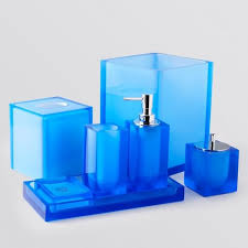 Blue And White Bathroom Accessories by Bathroom Blue Bathroom Accessories With Elegant Look Cobalt