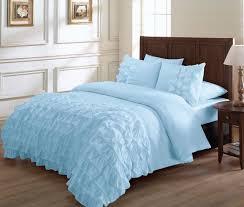 Ruffled Comforter Bedroom Tan Ruffle Bedding Beige Ruffle Comforter Ruffle