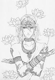 lotus sketch by fighter chan on deviantart