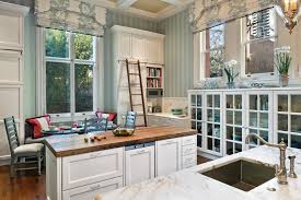 Roman Shades Styles - roman shade styles kitchen traditional with marble counters