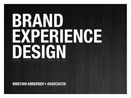 experience design brand experience design