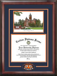 auburn diploma frame auburn samford lithograph diploma frame auburn tigers