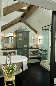 architecture coastal bathroom ideas with beadboard ceiling and