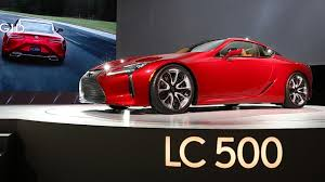 lexus lc manual transmission lexus lc 500 luxury coupe to debut at detroit auto show and it u0027s