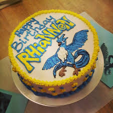 articuno pokemon birthday cake super cute cakes pinterest