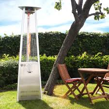 tall propane patio heaters exterior stainless steel gas patio heater stainless steel tabletop