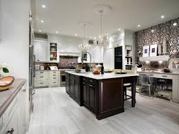 kitchen island counter stools tile floors large white porcelain floor tiles powell pennfield