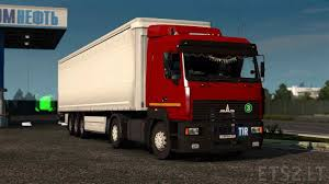 maz car maz 5440 ets 2 mods part 5