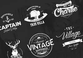 design a vintage logo free logo design kit 15 free logo templates zippypixels