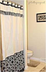 curtains u0026 drapes amazing monogram shower curtain impressive