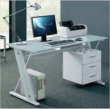 Modern Glass Office Desks Graceful Glass Desks For Office 27 Desk Furniture Home Tables