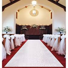 aisle runner wilton wedding aisle runner 1006 2561 walmart