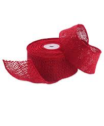 burlap wired ribbon burlap wired ribbon sale