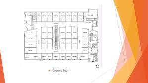 Commercial Complex Floor Plan Low Rise Medium Scale Commercial Complex