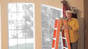 video 44 arched window treatments how to install dazzling