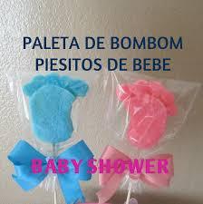 paleta de bombon piesitos de bebe baby shower tutorial madelin u0027s