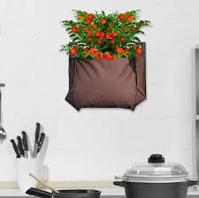 wall garden indoor indoor and outdoor grow bag kit by beecycle notonthehighstreet com