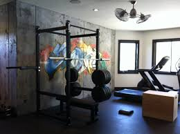 Cement Walls In Basement by Basement Gym W Cement Walls U0026 Graffiti Art Mat Floor And Cool