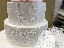 Lace Cake Decorating Techniques 104 Best Beautiful Lace Cakes Images On Pinterest Lace Cakes