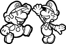 super mario brothers super mario fly coloring page wecoloringpage