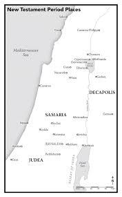 Judea Map Eric Olason Mapmaker Cartographic Artist Book Bible Story