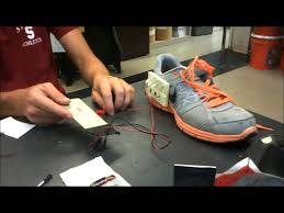 how to charge light up shoes piezo electric light up shoes demo youtube