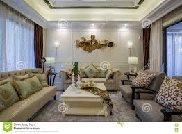 modern luxury living room interior design stock photo image