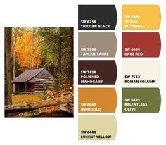 Interior Paint For Log Cabin Log Cabin Homes Pinterest Log - Interior paint colors for log homes