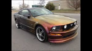 2007 ford mustang price 2007 ford mustang gt premium w custom paint for sale