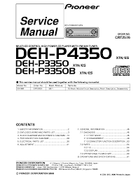 pioneer keh p3066 service manual download schematics eeprom