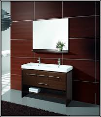 Double Sink Vanity 48 Inches Bathroom Ideas Middle Drawers Grey Double Sink 60 Inch Bathroom