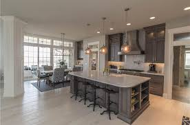 traditional kitchen with hardwood floors u0026 complex marble in