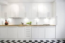 Contemporary White Kitchen Cabinets White Contemporary Kitchen Tjihome